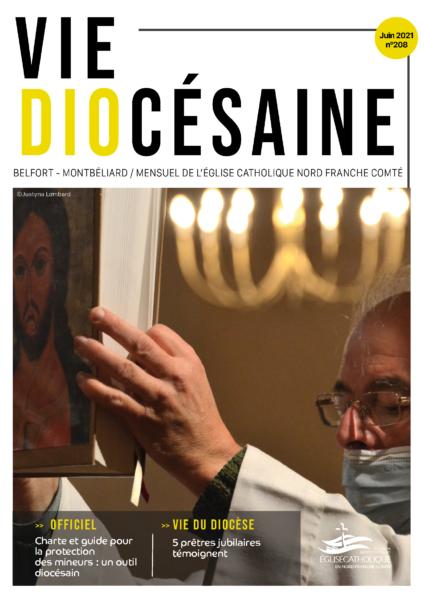 Couverture de la vie diocésaine juin 2021