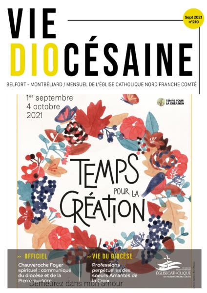 Vie diocésaine septembre 2021